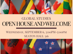 Global Studies Open House & Welcome Reception