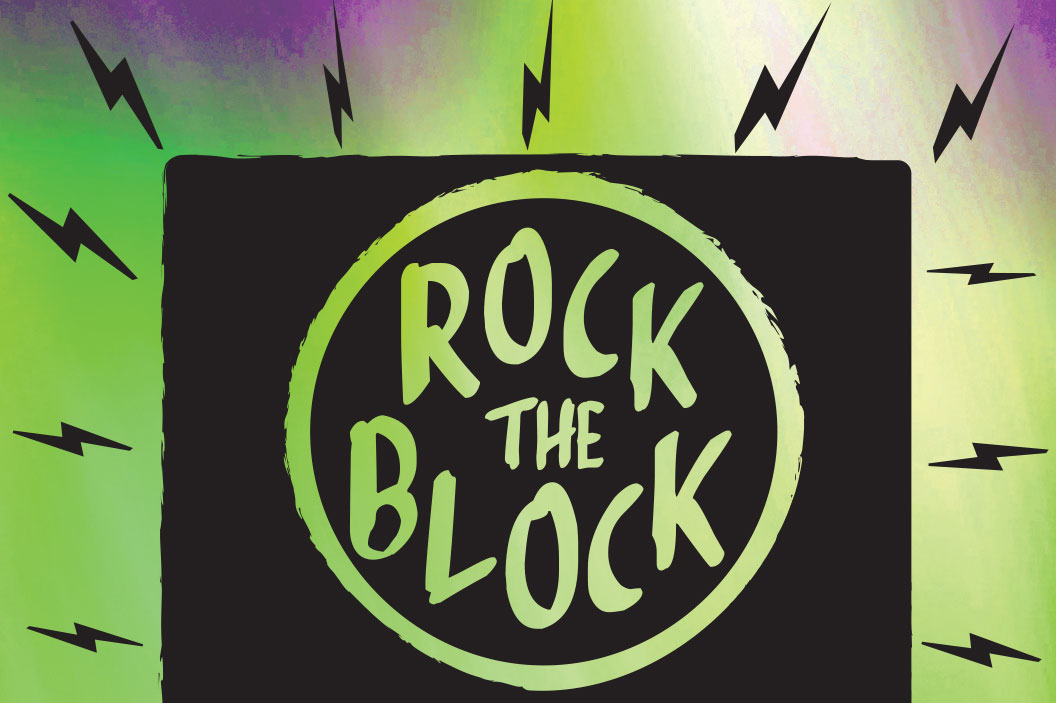 Rock the Block is Wednesday from 4-7 p.m. at 17th & Vine Fields