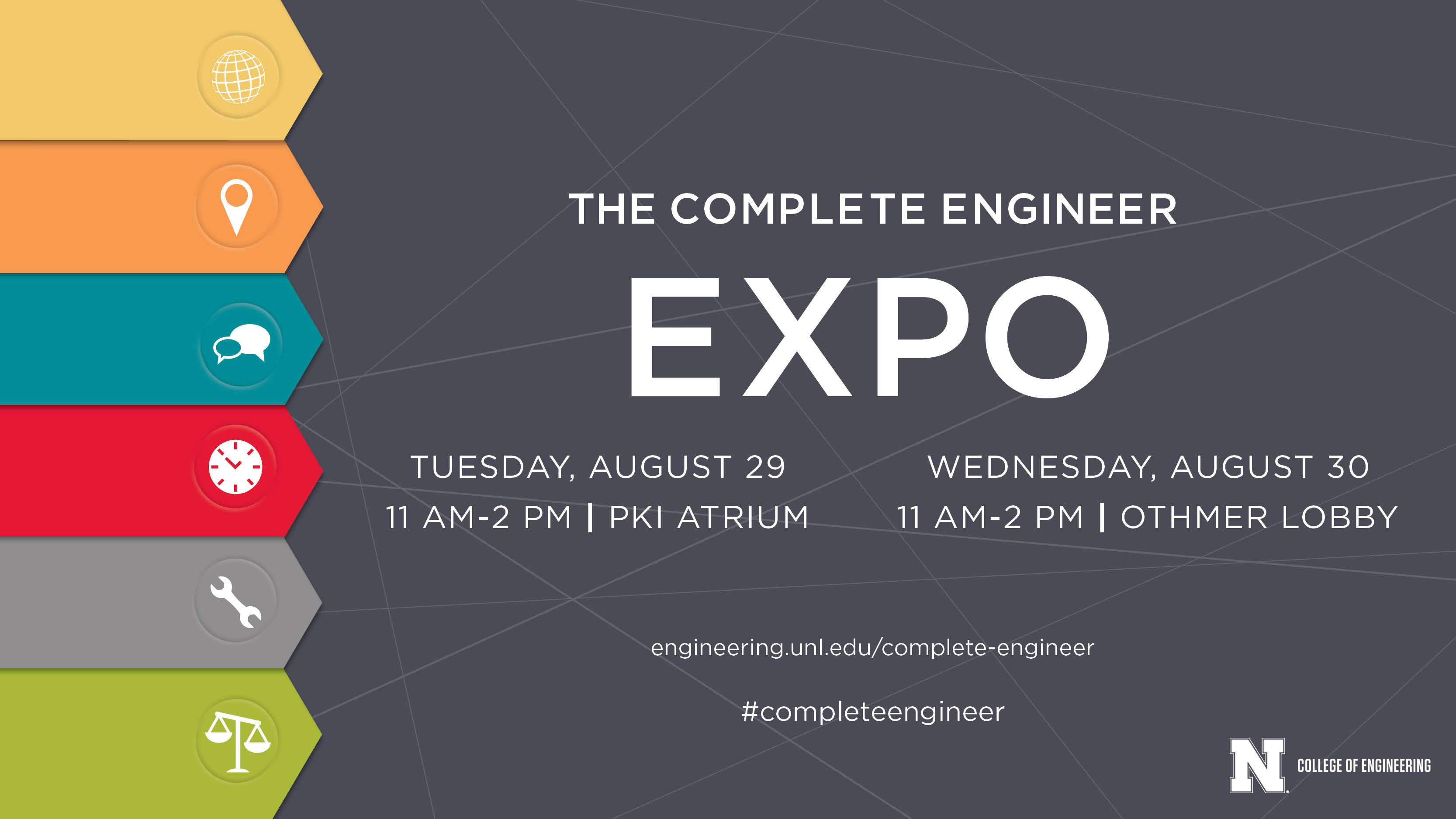 Complete Engineer Expos are Tuesday and Wednesday