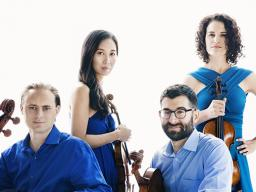 The Chiara Sting Quartet have announced 2017-2018 will be its final concert season. Members will continue as faculty in the Korff School through the 2018-2019 academic year. Photo by Lisa Marie Mazzucco.