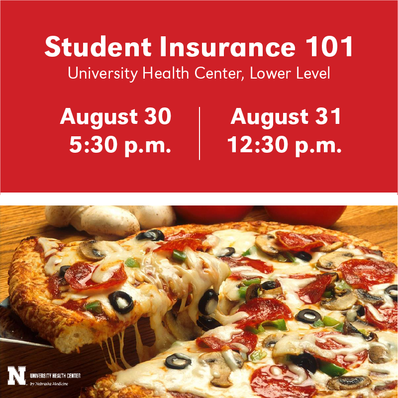 Student Insurance 101 is your opportunity to learn more about the University's student health insurance option for students.