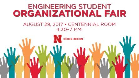 Engineering Student Organizational Fair is Tuesday