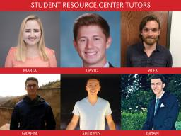 Student Resource Center tutors