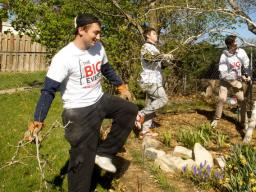 Nebraska students participate in a community service event. On Sept. 10, the university will participate in the 9/11 National Day of Service. | Greg Nathan, University Communications