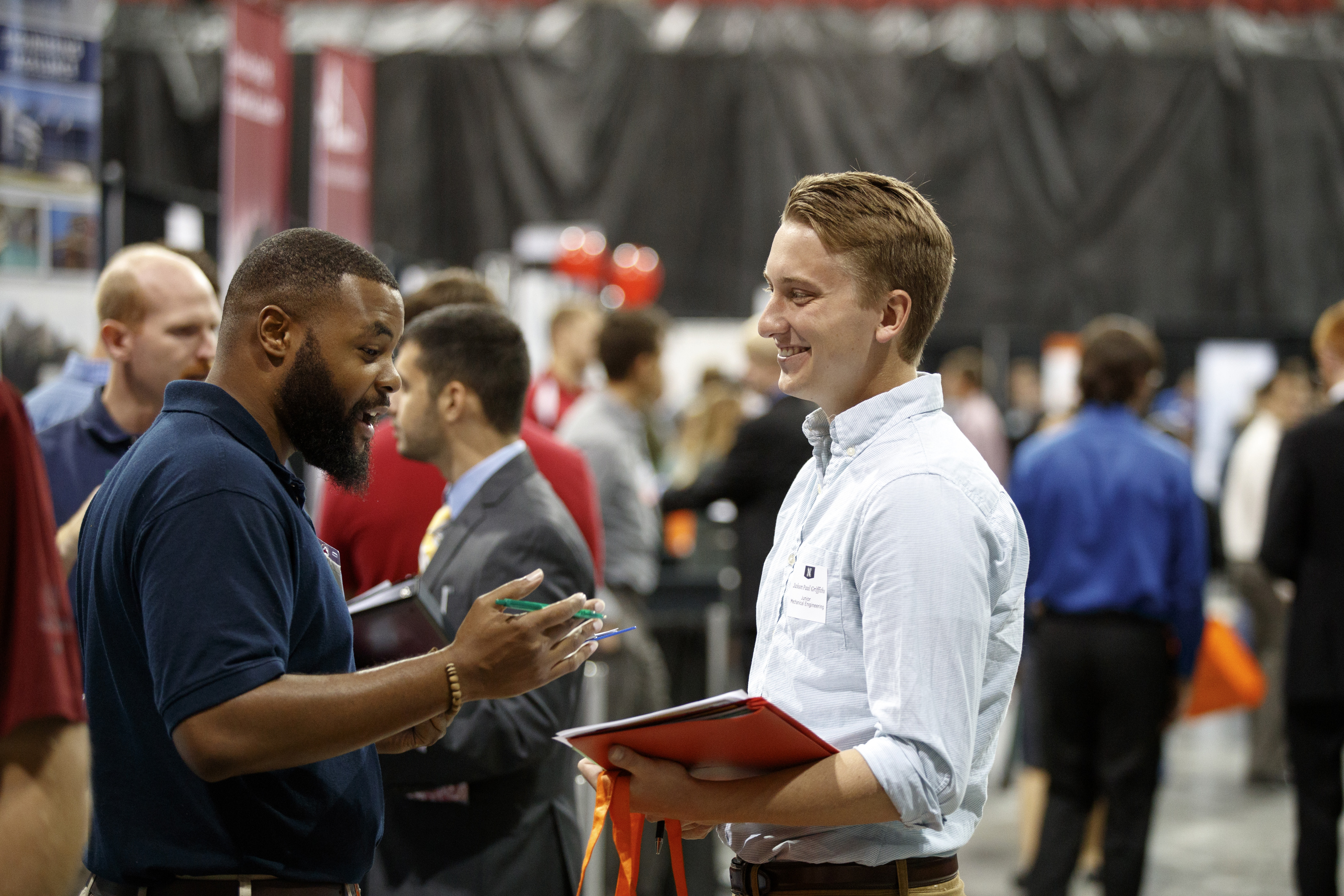 Encourage your student to attend career fairs to explore internship and job opportunities.