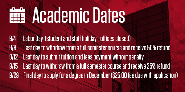 Academic Dates