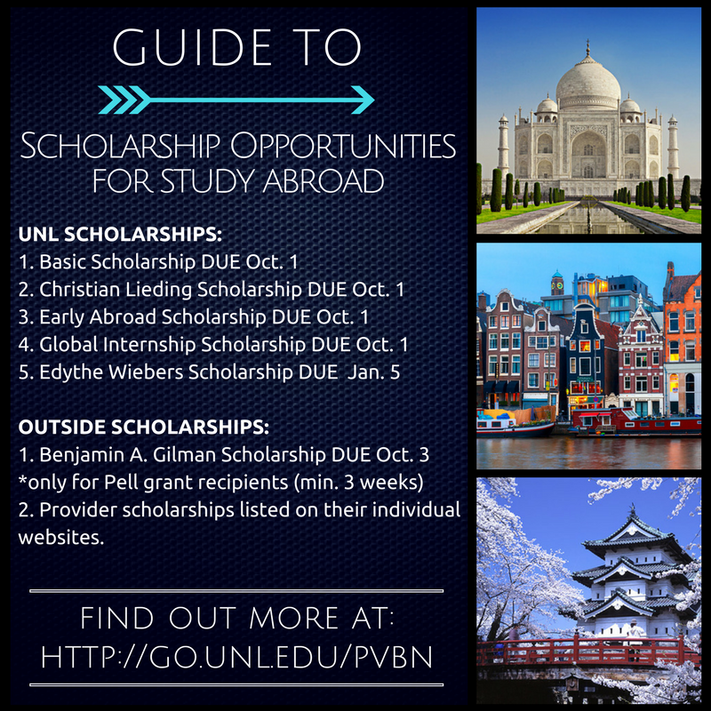 Apply for Study Abroad Scholarship
