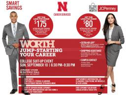 The JCPenney Suit Up event