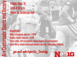 The panel will begin at 3:30 p.m. in Andersen Hall, Room 15 and will be free and open to the public.