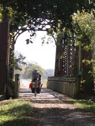 The Katy Trail Bike Tour takes participants along one of the nation's premier rail-to-trail conversion projects.