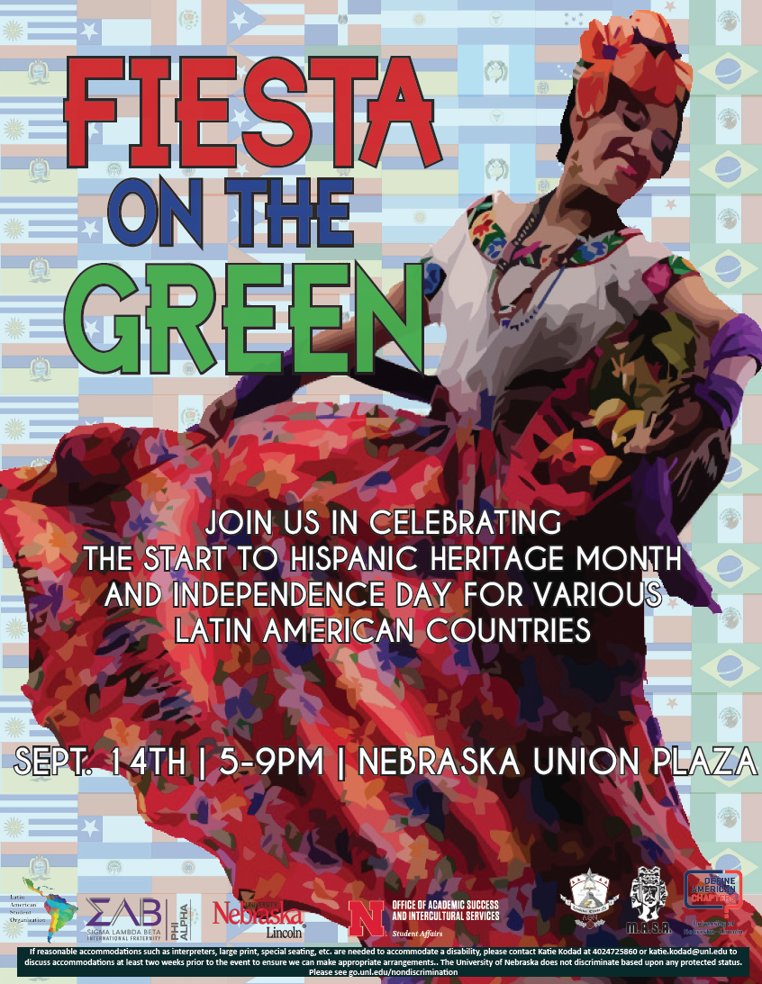Fiesta on the Green is an exciting opportunity for students to explore Hispanic culture.