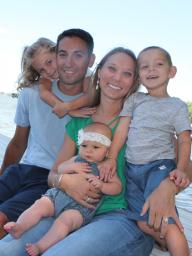 The Soto Family (Katie and Ryan with her kids, Karsyn is on her lap)