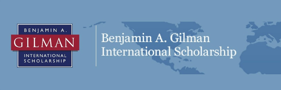 Benjamin A. Gilman International Scholarship to Study Abroad