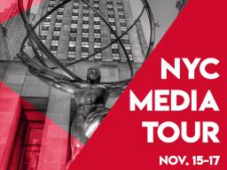 Students will get the opportunity to visit advertising agencies and connect with others in the advertising field. The trip is planned for Nov. 15-17.