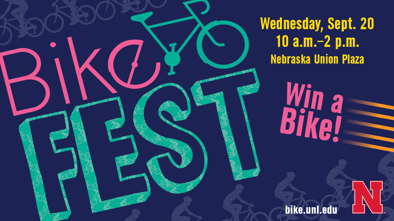 Bike Fest is an annual event promoting biking as a safe, practical and economical form of transportation.
