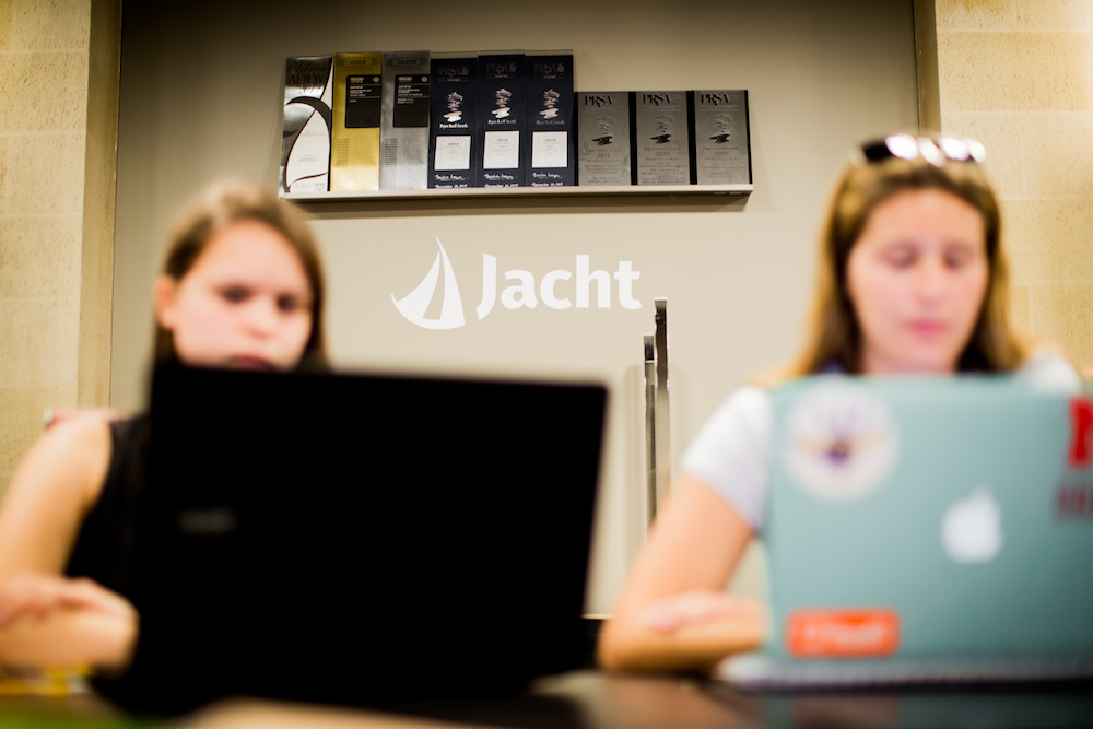 Jacht Ad Lab gives student an opportunity to work with real world clients