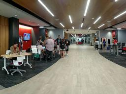 Most Study Stops are located in the Adele Hall Learning Commons in Love Library North.