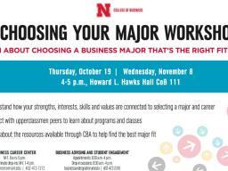 Choosing Your Major Workshop
