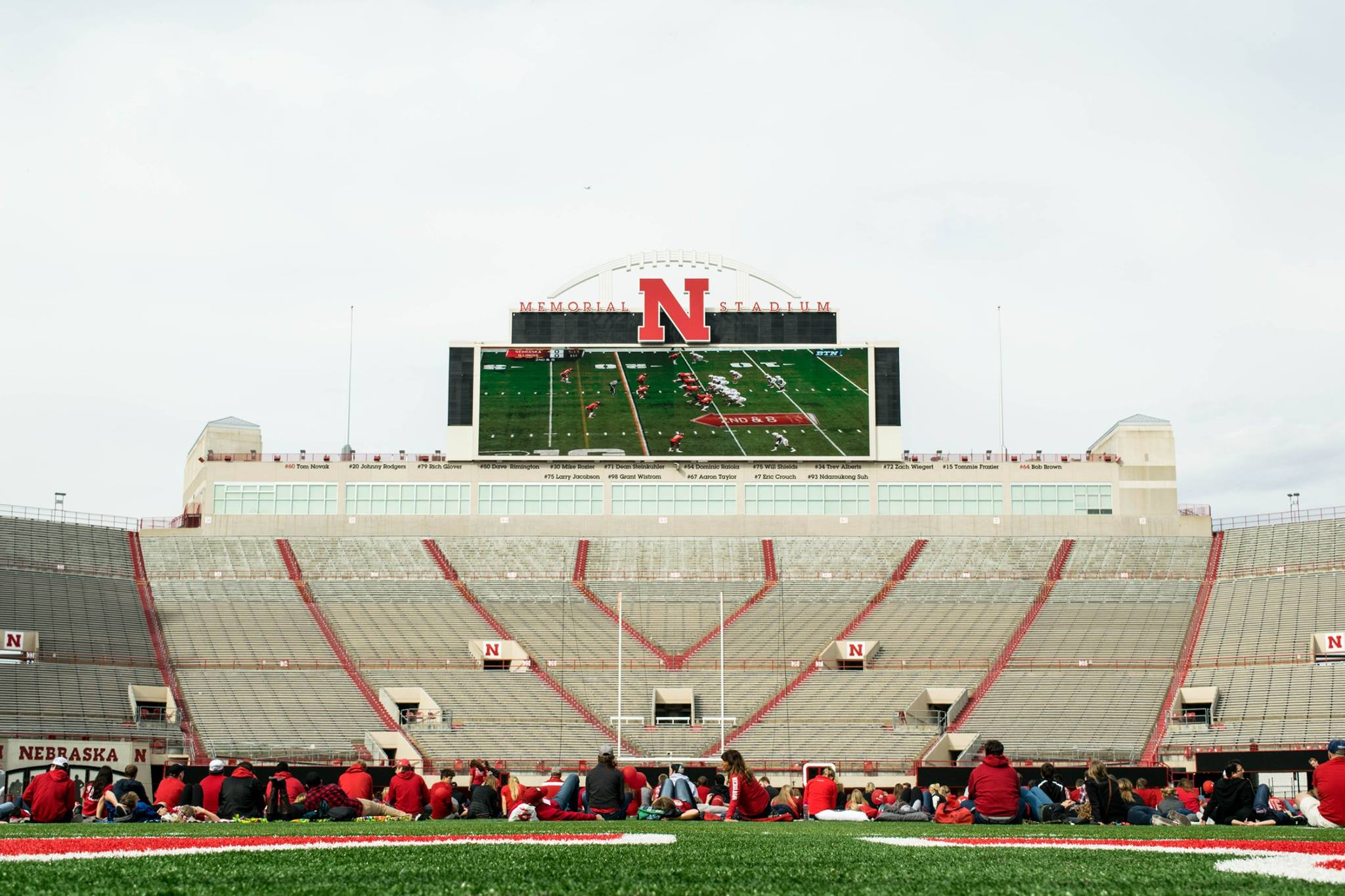 Don't miss the watch party inside Memorial Stadium on Sept. 29.