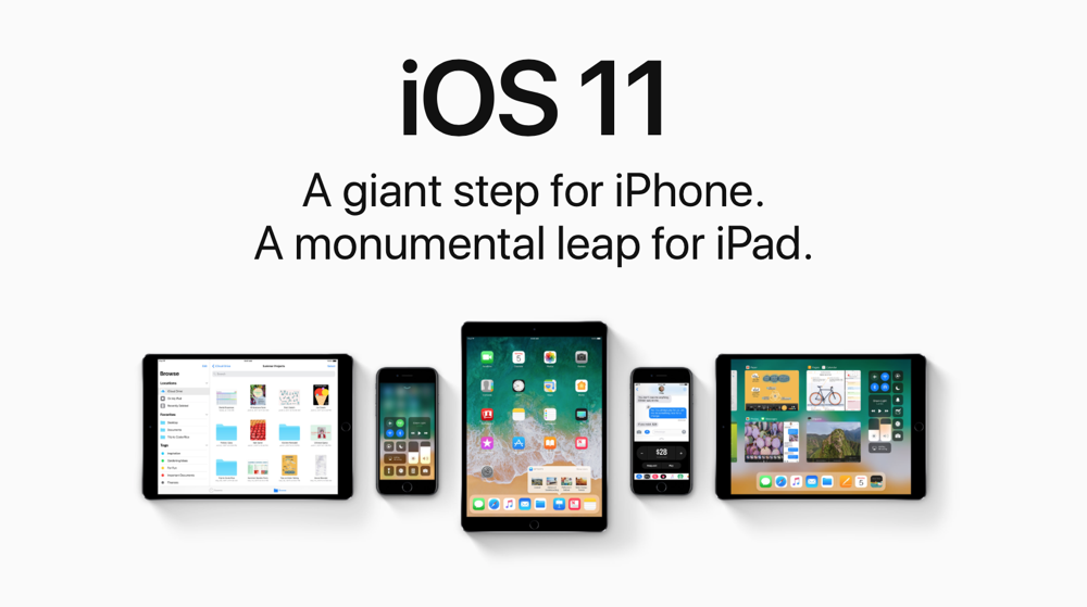 Learn about Apple's new iOS 11.