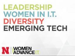 Women in IT leadership conference