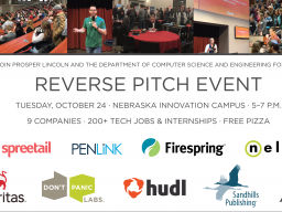 Reverse Pitch and State of the Practice events