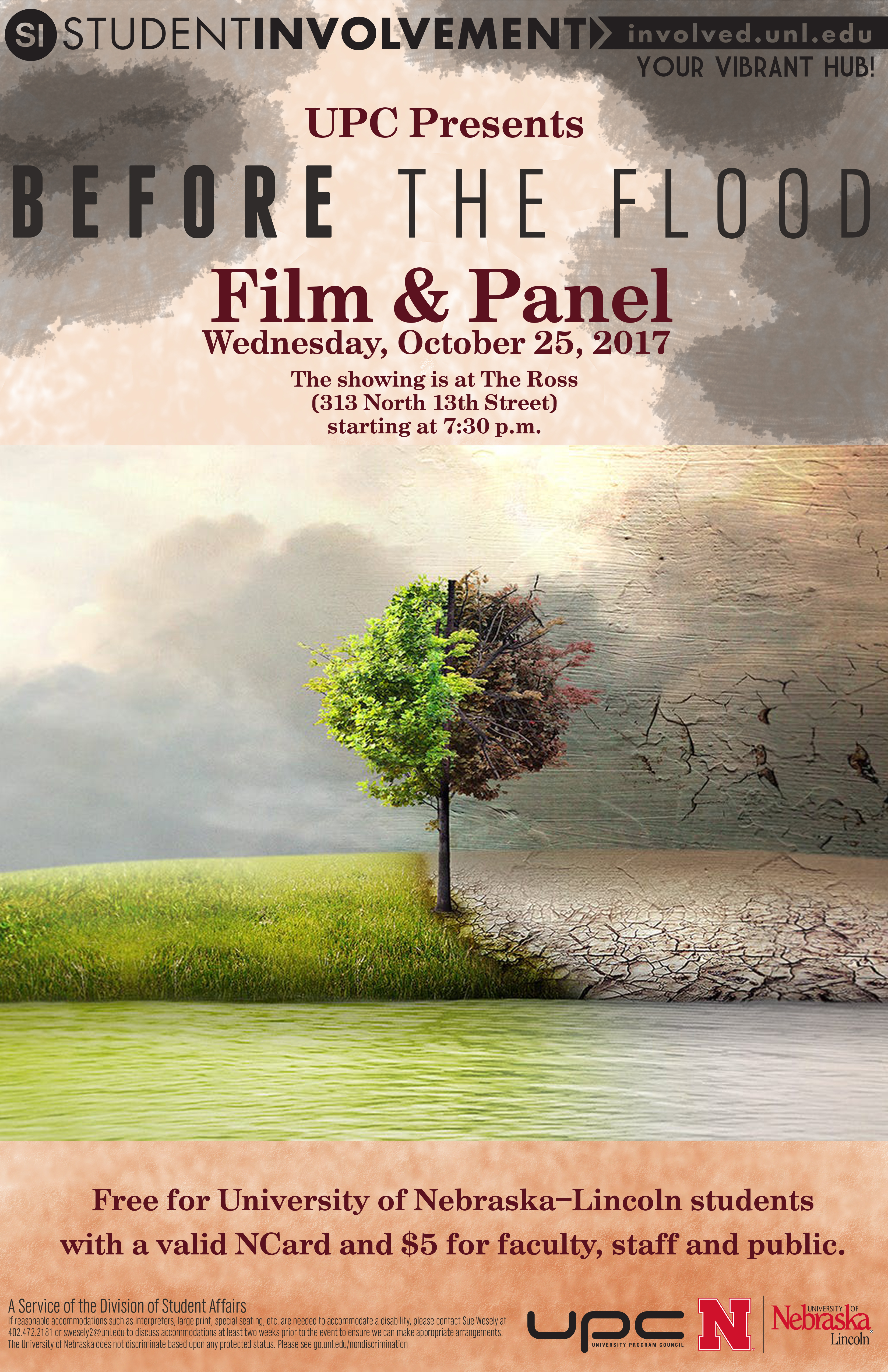 UPC Present: Before the Flood Film and Panel