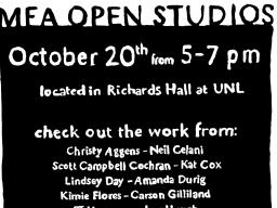See the work of Master of Fine Arts students in the School of Art, Art History & Design at Open Studios on Oct. 20.