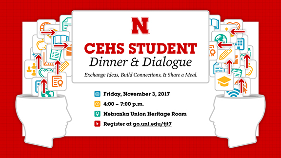 Oct. 20 is the final day to register for Dinner & Dialogue.