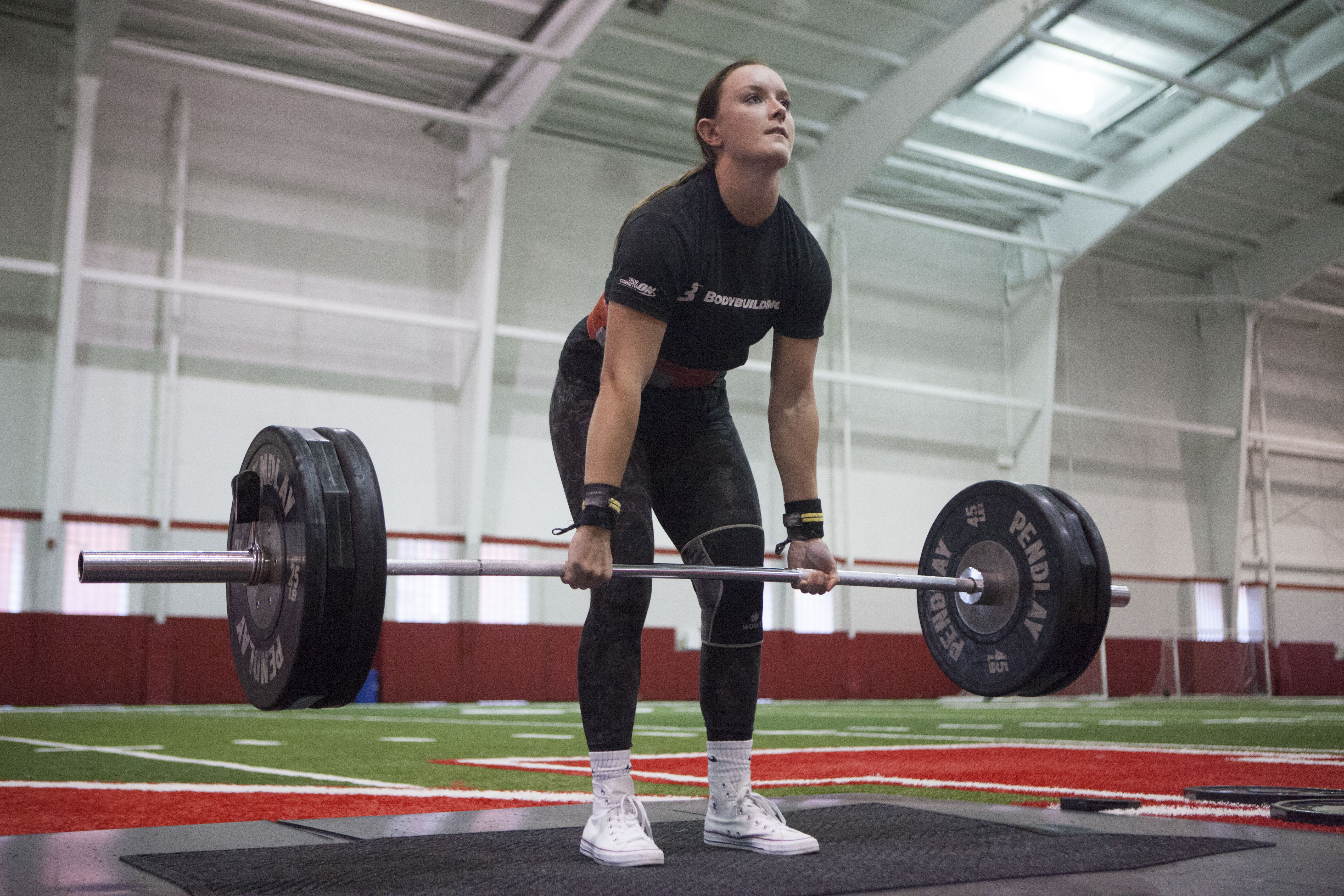 The seventh Strong Husker competition is held Oct. 28. Photo courtesy of Bill Wendl.