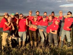 The Soil Judging Team will head to nationals in the spring after sweeping the Region V competition Sept. 28 in Redfield, South Dakota. | Photo courtesy Rebecca Young