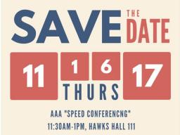 Save the Date Speed Conferencing