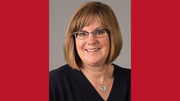 Lisa McConnell is the October Staff Star Award recipient.