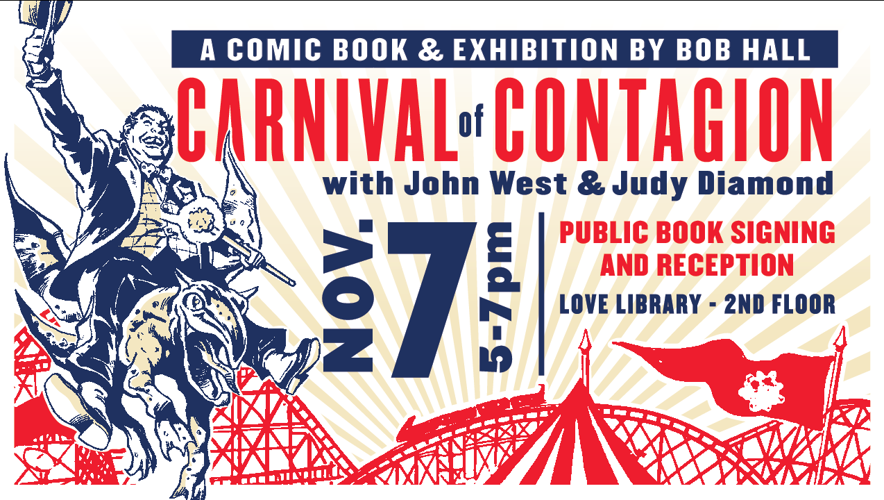 Carnival of Contagion Book Signing Event