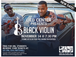 Black Violin will visit campus on Nov. 14.