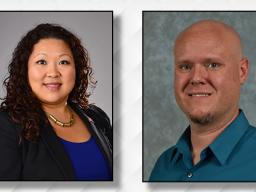 OLC honors work of Christina Yao and Brian Wilson.