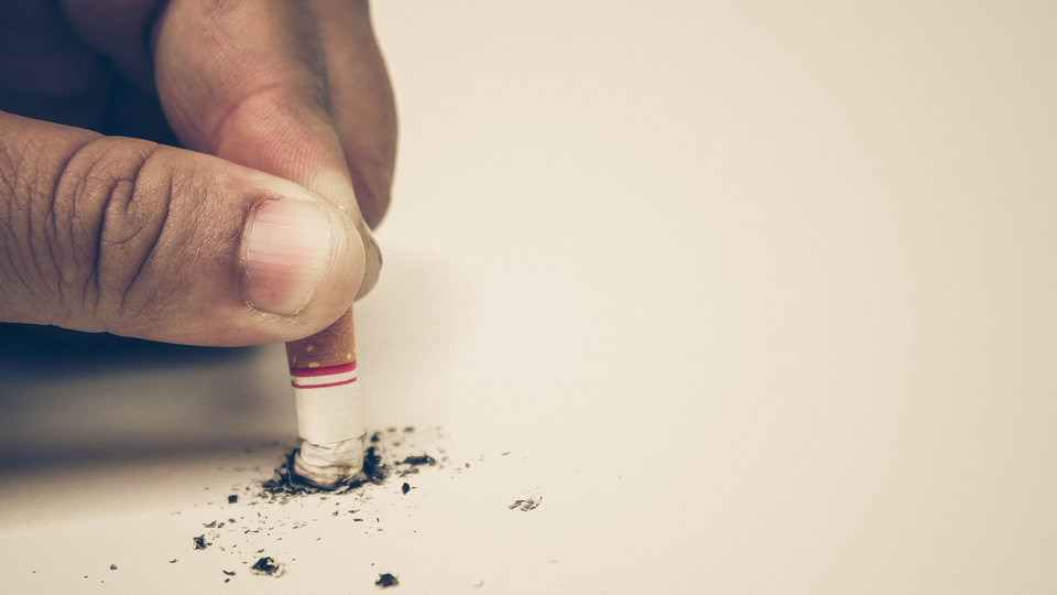 The university will enact a tobacco-free campus policy starting Jan. 1.