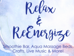 Join us for Relax and ReEnergize