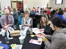 Educators from Grand Island Public Schools attend the 2016 K-12 Science Education Summit.