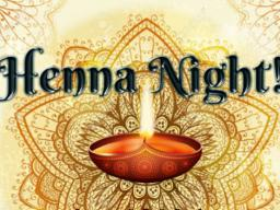 Henna Night flier