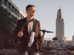 Matt Waite, professor of practice, will discuss drones in the Nebraska Lecture on Nov. 8. The talk is part of the university's fall Research Fair. | University Communications
