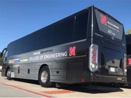 N-E Ride buses run each weekday that classes are in session.