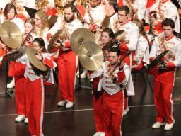 The Cornhusker Marching Band's Highlights Concert is Saturday, Dec. 9 in the Lied Center for Performing Arts.