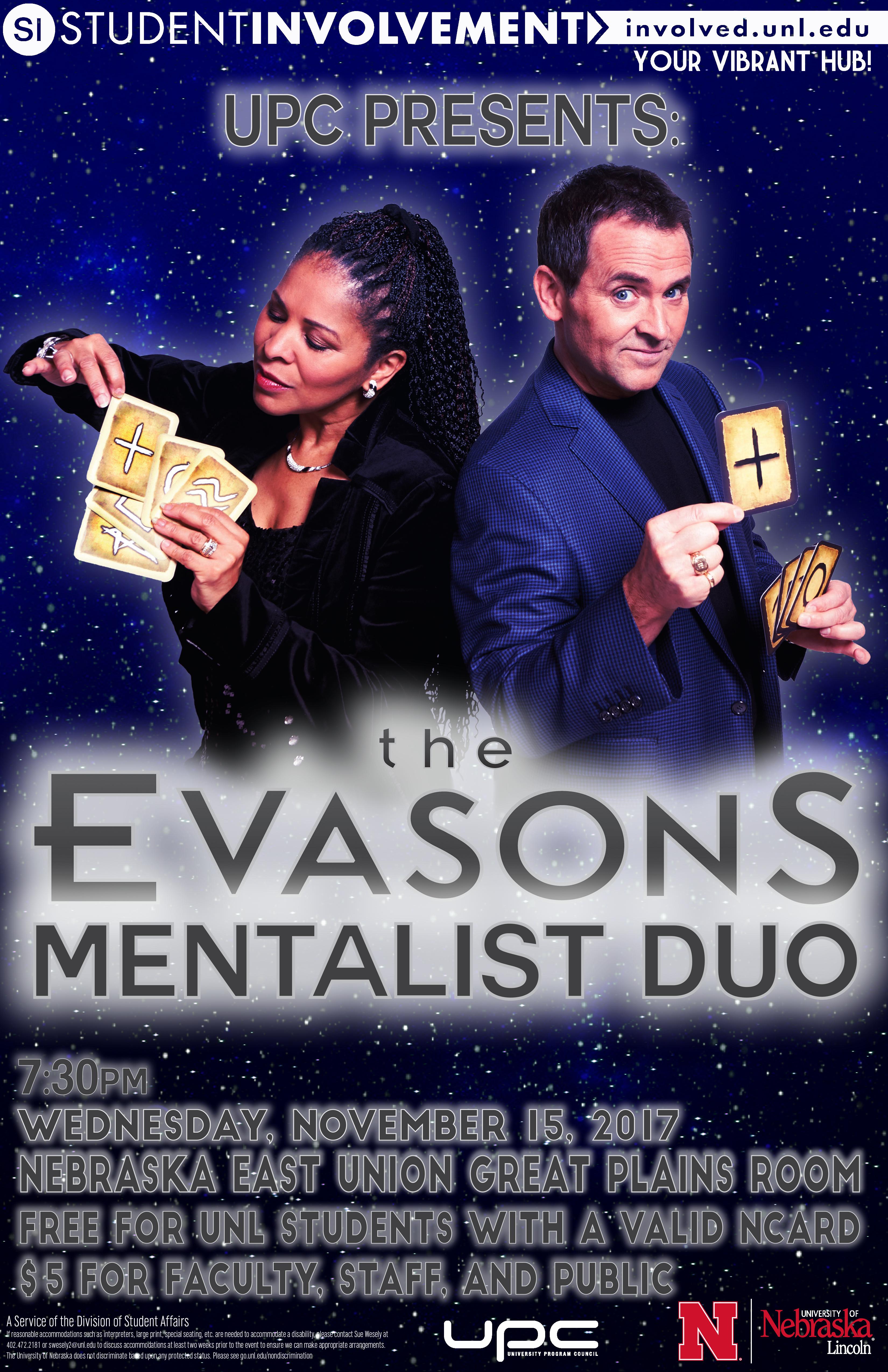 The Evasons Mentalist Duo