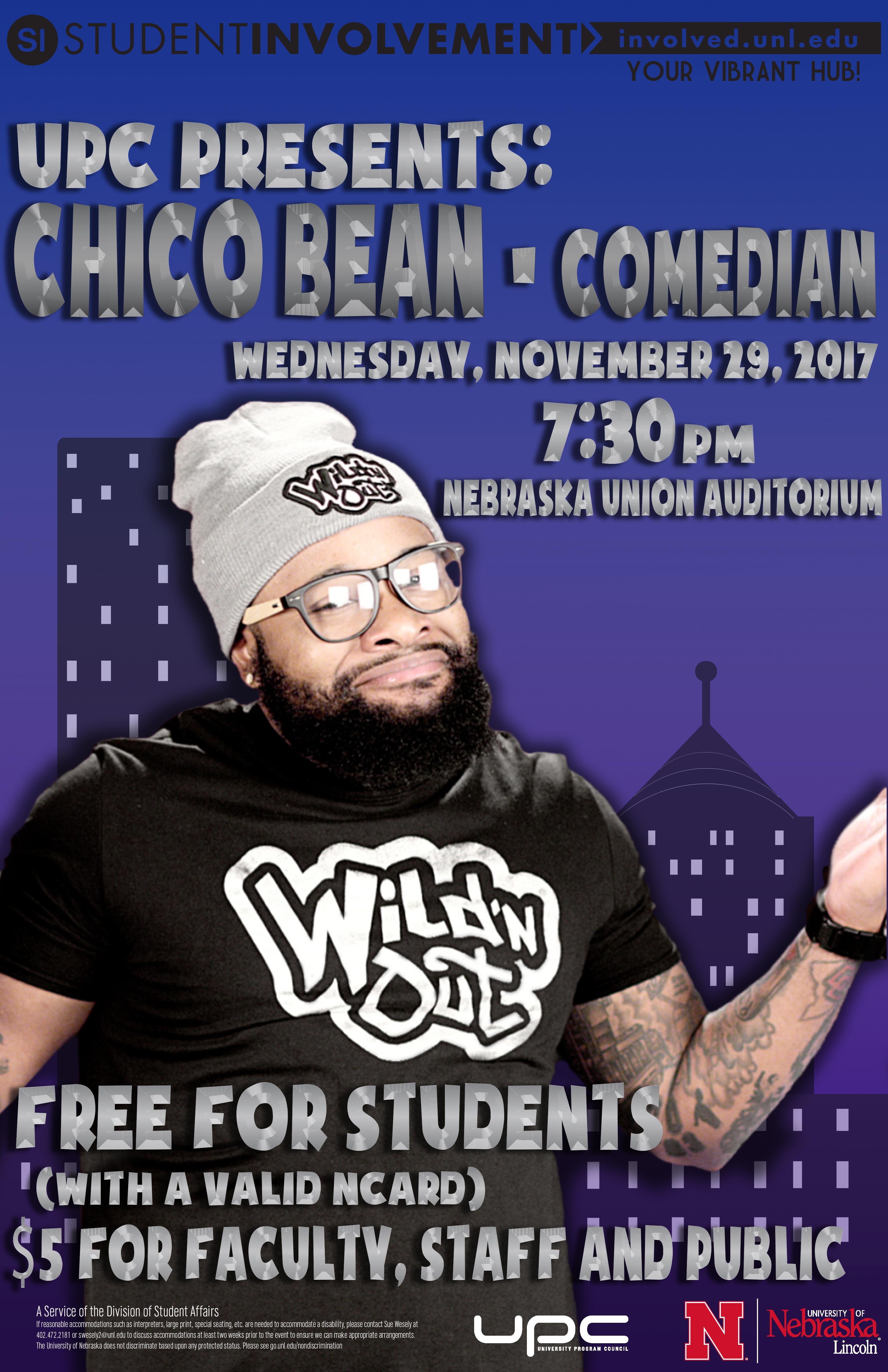 UPC Presents: Chico Bean