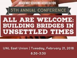 5th Annual AAA Conference