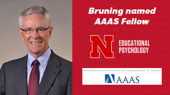 Roger Bruning is recognized for his distinguished contributions to the field of educational psychology, particularly instructional applications of cognitive sciences and literacy development research.