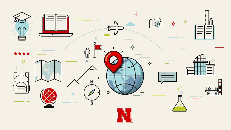 Thirteen Nebraska undergraduates will study abroad during the spring 2018 semester as Gilman Scholars.  | Marcelo Plioplis, University Communication