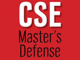 CSE master's defense
