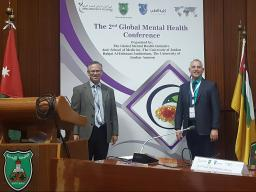 Bischoff and Springer present at the Second Global Mental Health Conference in Jordan